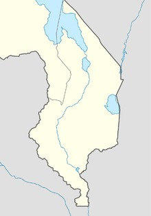 Shire river location map.png