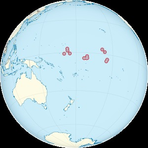 Kiribati on the globe (Polynesia centered).svg